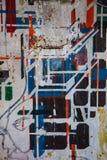 Τέχνη ψεκασμού, σύγχρονη τέχνη Στοκ εικόνες με δικαίωμα ελεύθερης χρήσης