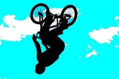 τέχνη 003 bmx Στοκ εικόνες με δικαίωμα ελεύθερης χρήσης