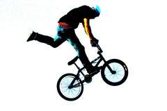 τέχνη 010 bmx Στοκ Φωτογραφίες