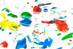 τέχνη childs Στοκ φωτογραφία με δικαίωμα ελεύθερης χρήσης