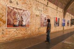 Τέχνη Dashanzi, 798 οδός, Πεκίνο στις 25 Μαΐου 2013 Στοκ Εικόνες