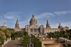 Τέχνη de Catalunya Nacional δ ` Museu - το μουσείο είναι πρέπει-βλέπει για την τέχνη Στοκ φωτογραφία με δικαίωμα ελεύθερης χρήσης