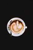 Τέχνη Latte Στοκ εικόνα με δικαίωμα ελεύθερης χρήσης