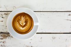 Τέχνη Latte Στοκ Εικόνα