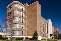 Τέχνη Moderne/αρχιτεκτονική Deco - σανατόριο Silvercrest - νέο Άλμπανυ, Ιντιάνα στοκ εικόνες