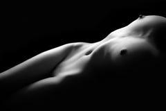 τέχνη nude Στοκ εικόνα με δικαίωμα ελεύθερης χρήσης