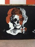 Τέχνη Qween Elisabeth οδών Στοκ εικόνες με δικαίωμα ελεύθερης χρήσης