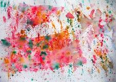 τέχνη spash Στοκ εικόνα με δικαίωμα ελεύθερης χρήσης