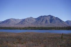 Τέλεια από την Αλάσκα ημέρα Στοκ φωτογραφία με δικαίωμα ελεύθερης χρήσης