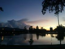 Τέλεια σκηνή στο Λα Sabana Κόστα Ρίκα Στοκ εικόνα με δικαίωμα ελεύθερης χρήσης