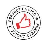 Τέλεια σφραγίδα επιλογής Στοκ εικόνα με δικαίωμα ελεύθερης χρήσης