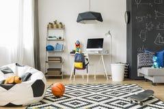 Τέλειο δωμάτιο για μια ιδέα μαθητών Στοκ φωτογραφία με δικαίωμα ελεύθερης χρήσης