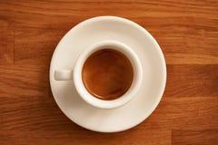 Τέλειο Crema Espresso Στοκ Φωτογραφία