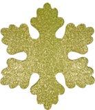 Τέλειο snowflake Χριστουγέννων στο άσπρο υπόβαθρο Στοκ φωτογραφία με δικαίωμα ελεύθερης χρήσης