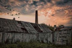 Τέλος μιας βιομηχανικής εποχής Στοκ Εικόνα