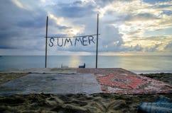 Τέλος του καλοκαιριού Στοκ φωτογραφίες με δικαίωμα ελεύθερης χρήσης