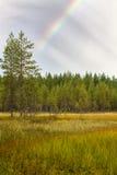 Τέλος του ουράνιου τόξου Στοκ Εικόνες