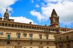 Τέλος του Σαντιάγο de Compostela του τρόπου Αγίου James Στοκ Εικόνες