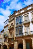 Τέλος του Σαντιάγο de Compostela του τρόπου Αγίου James Στοκ Φωτογραφίες