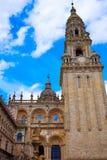 Τέλος του Σαντιάγο de Compostela του τρόπου Αγίου James Στοκ εικόνα με δικαίωμα ελεύθερης χρήσης