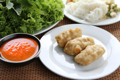 τήξη Βιετνάμ τροφίμων Στοκ Εικόνες