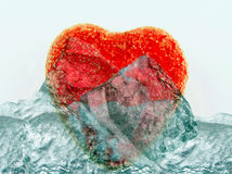 τήξη καρδιών Στοκ εικόνα με δικαίωμα ελεύθερης χρήσης