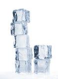 τήξη πάγου κύβων που τονίζε Στοκ φωτογραφίες με δικαίωμα ελεύθερης χρήσης