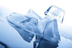 τήξη πάγου κύβων Στοκ Εικόνα