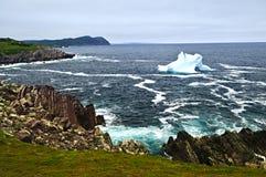 τήξη παγόβουνων Στοκ Εικόνες