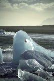 τήξη παγόβουνων Στοκ Φωτογραφίες