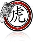 Τίγρη - κινεζικό Zodiac σημάδι Στοκ Φωτογραφία