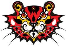 τίγρη μασκών Στοκ εικόνα με δικαίωμα ελεύθερης χρήσης