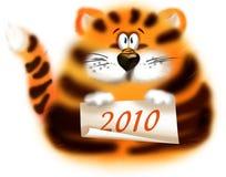 τίγρη του 2010 Στοκ Εικόνες