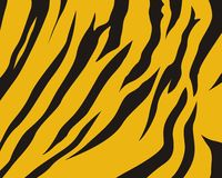 τίγρη δερμάτων προτύπων Στοκ φωτογραφία με δικαίωμα ελεύθερης χρήσης