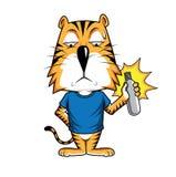 Τίγρη Vactor στοκ εικόνα