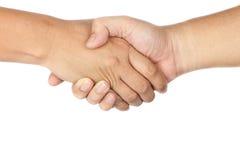τίναγμα ανθρώπων χεριών Στοκ Εικόνες