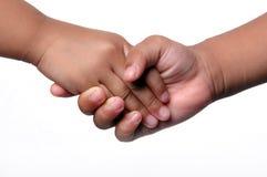 τίναγμα κατσικιών χεριών Στοκ φωτογραφία με δικαίωμα ελεύθερης χρήσης