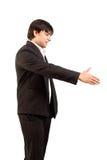 τίναγμα προσφοράς χεριών Στοκ φωτογραφία με δικαίωμα ελεύθερης χρήσης