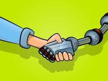 Τίναγμα των χεριών με την τεχνολογία απεικόνιση αποθεμάτων