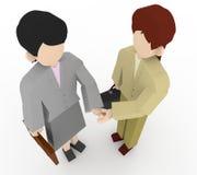 τίναγμα χεριών επιχειρημα&ta ελεύθερη απεικόνιση δικαιώματος