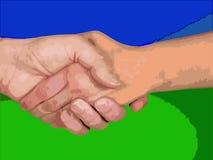τίναγμα χεριών Στοκ φωτογραφίες με δικαίωμα ελεύθερης χρήσης