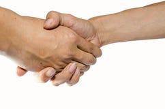 τίναγμα χεριών στοκ εικόνες με δικαίωμα ελεύθερης χρήσης