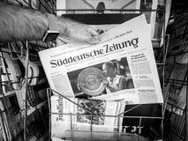 Τίτλος αντισφαίρισης νίκης της Angelique Kerber σε Wimbledon Στοκ εικόνα με δικαίωμα ελεύθερης χρήσης