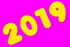 2019 τίτλος στοκ φωτογραφία με δικαίωμα ελεύθερης χρήσης