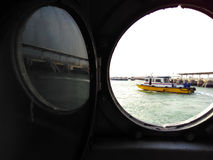 Τίτλος έξω στη θάλασσα Στοκ Εικόνα