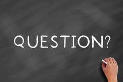 Τίτλος ερώτησης στοκ εικόνες με δικαίωμα ελεύθερης χρήσης