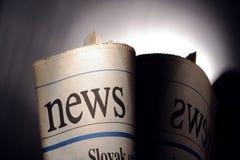 Τίτλος εφημερίδων στοκ φωτογραφία με δικαίωμα ελεύθερης χρήσης