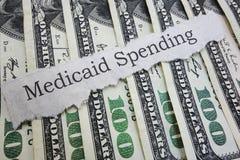 Τίτλος εφημερίδων Medicaid στοκ φωτογραφίες
