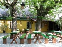Ταβέρνα κρασιού στην Αυστρία Στοκ εικόνες με δικαίωμα ελεύθερης χρήσης