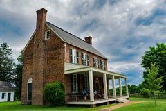 Ταβέρνα Hill τριφυλλιού, εθνικό ιστορικό πάρκο σπιτιών δικαστηρίου Appomattox Στοκ φωτογραφία με δικαίωμα ελεύθερης χρήσης